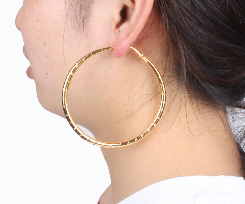 Hoops On Hoops-earrings