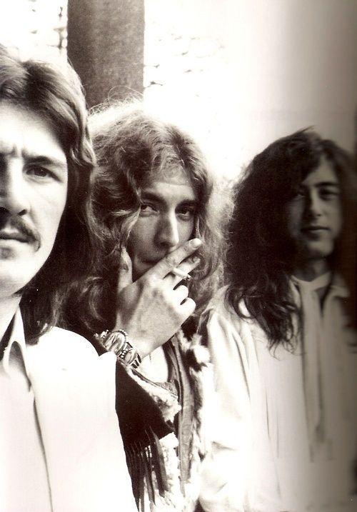 Jimmy Page, Robert Plant, John Bonham