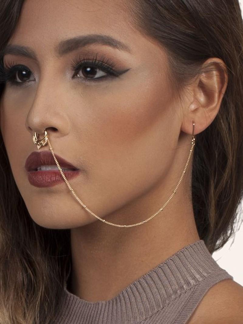 Rings Chain-earrings