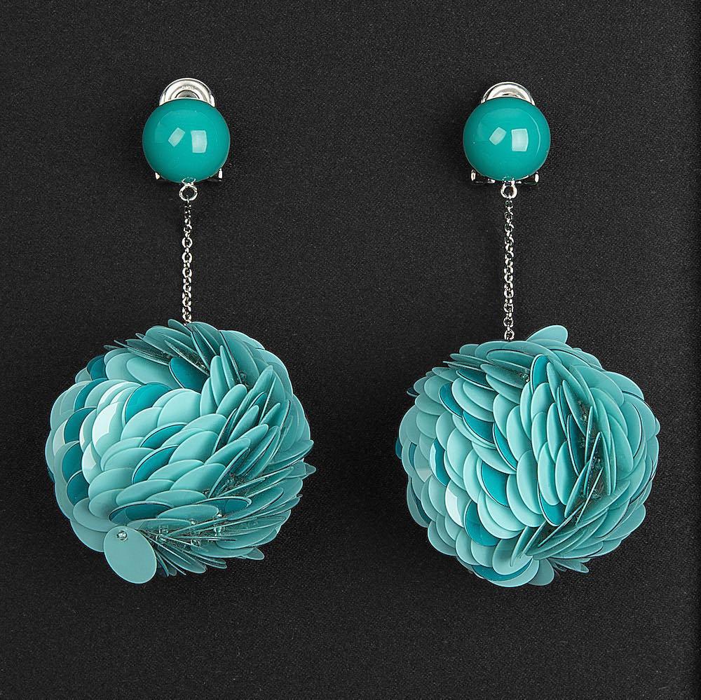 Sequin-earrings