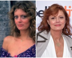 10 Famous Actresses Then and Now
