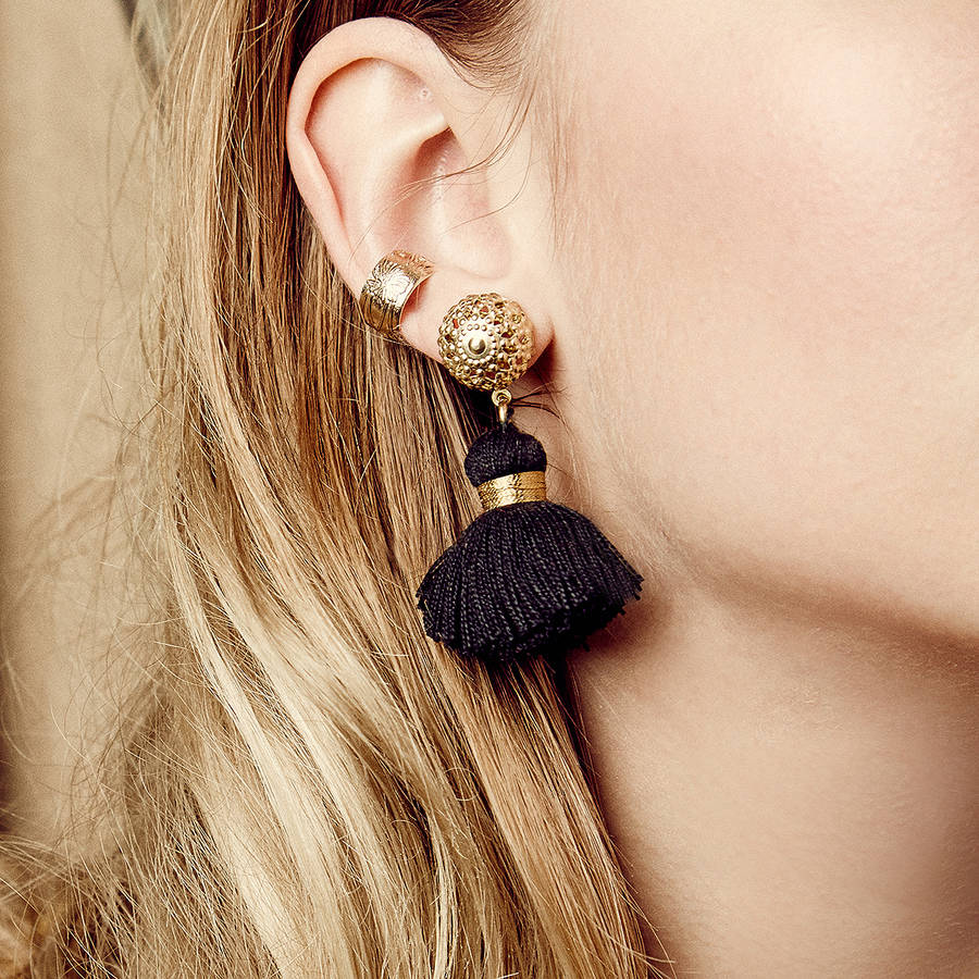 Tassel Season-earrings