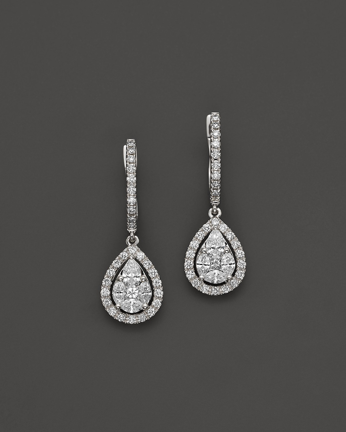 Teardrop-earrings