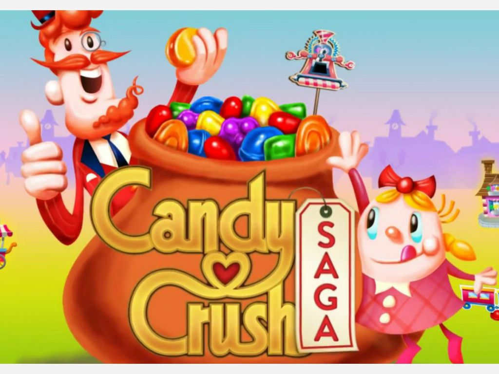Candy Crush Saga for Stress buster