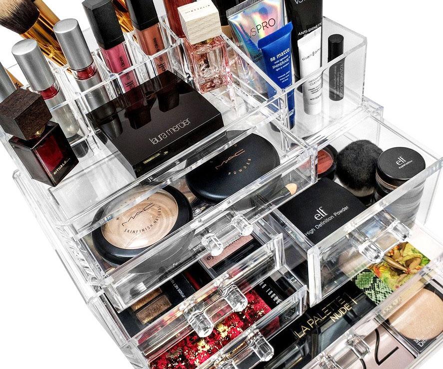Acrylic Makeup Organzier
