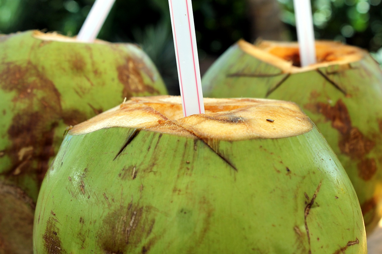 Coconut Water to reduce High blood pressure