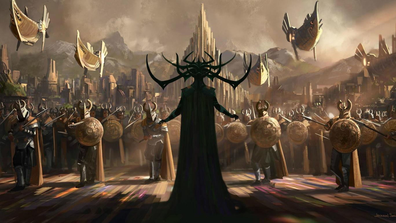 upcoming movies 2017-Ragnarok