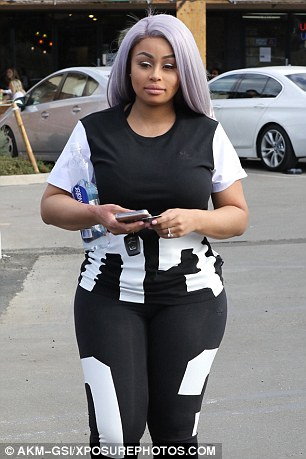 Blac Chyna Has Lost 40l weight