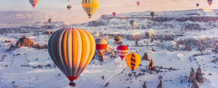 Stunning Photos Of Hot Air Balloons Floating You've Never Seen It