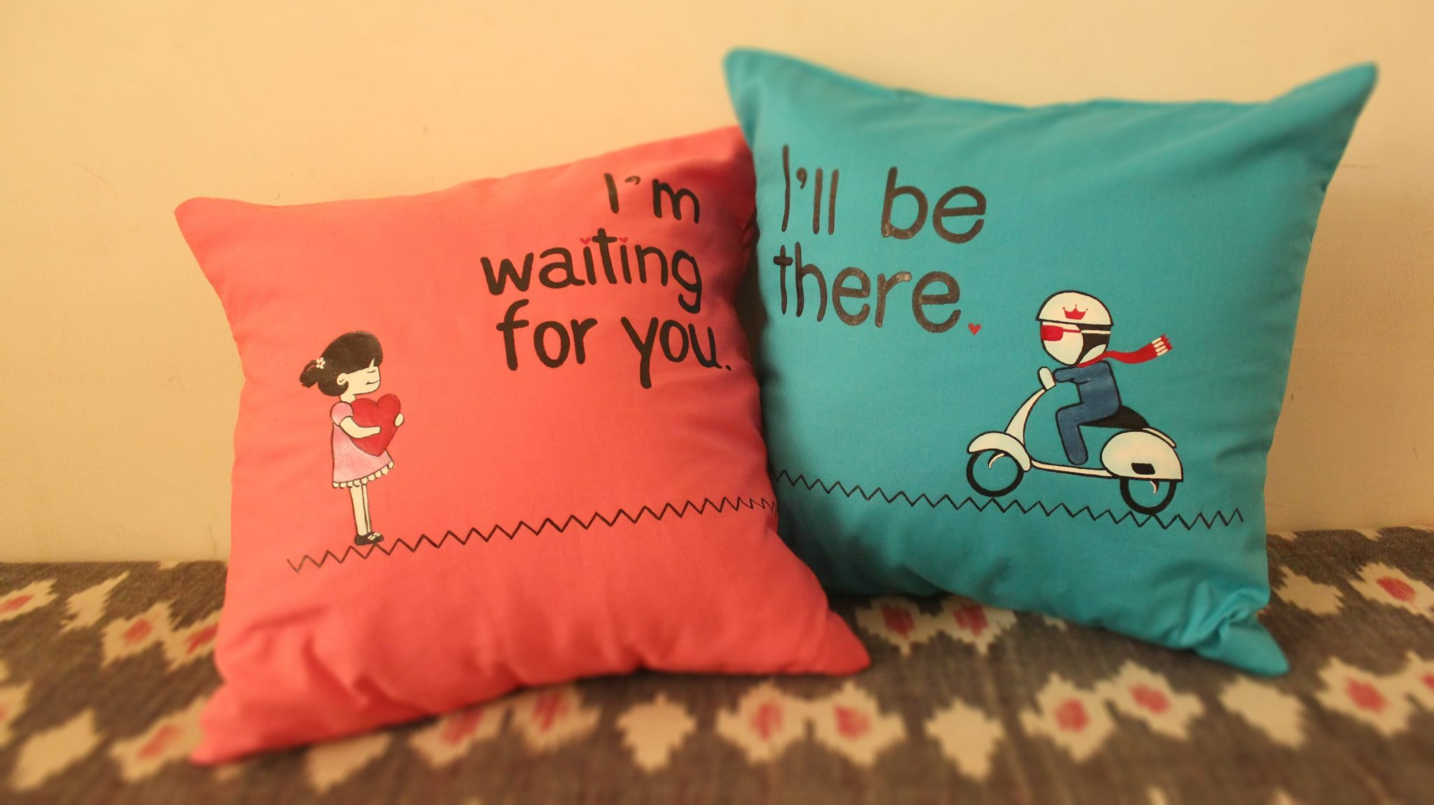 A Promise Day Cushion