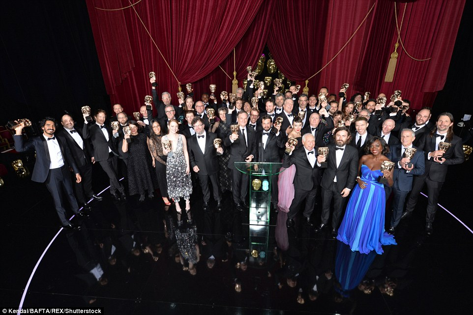 70th British Academy Film Awards, All the Winners