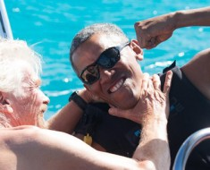Barack Obama- Richard private Island-Featured