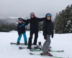 Beckham family ski holiday in Canada-1