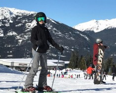 Beckham family ski holiday in Canada-10