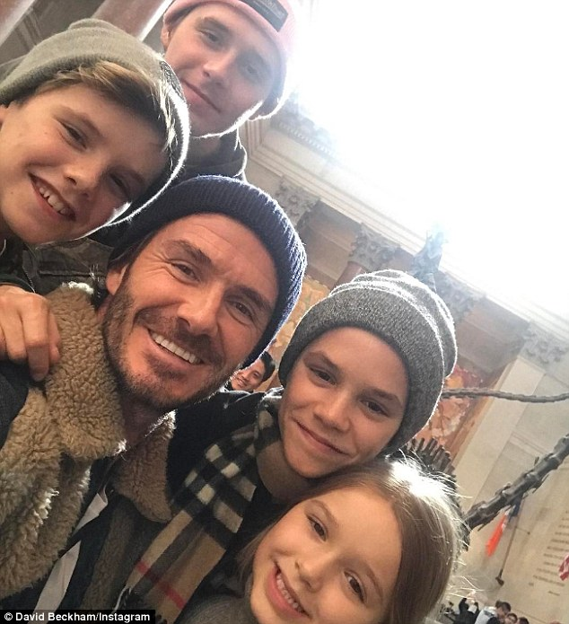 Beckham family ski holiday in Canada-11