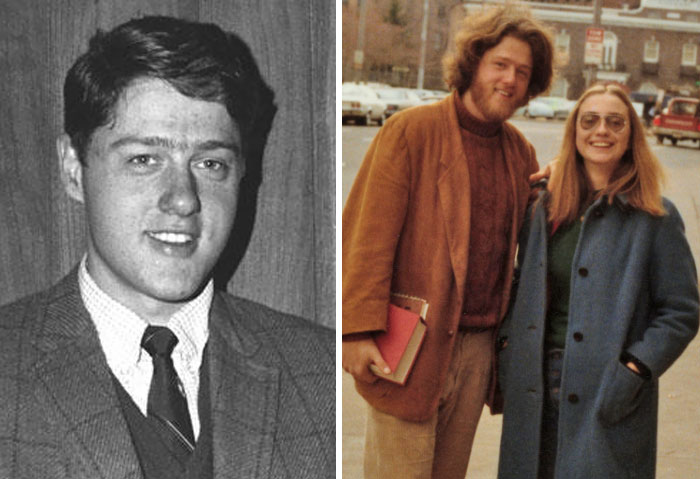 Bill Clinton, Age 22 And 26
