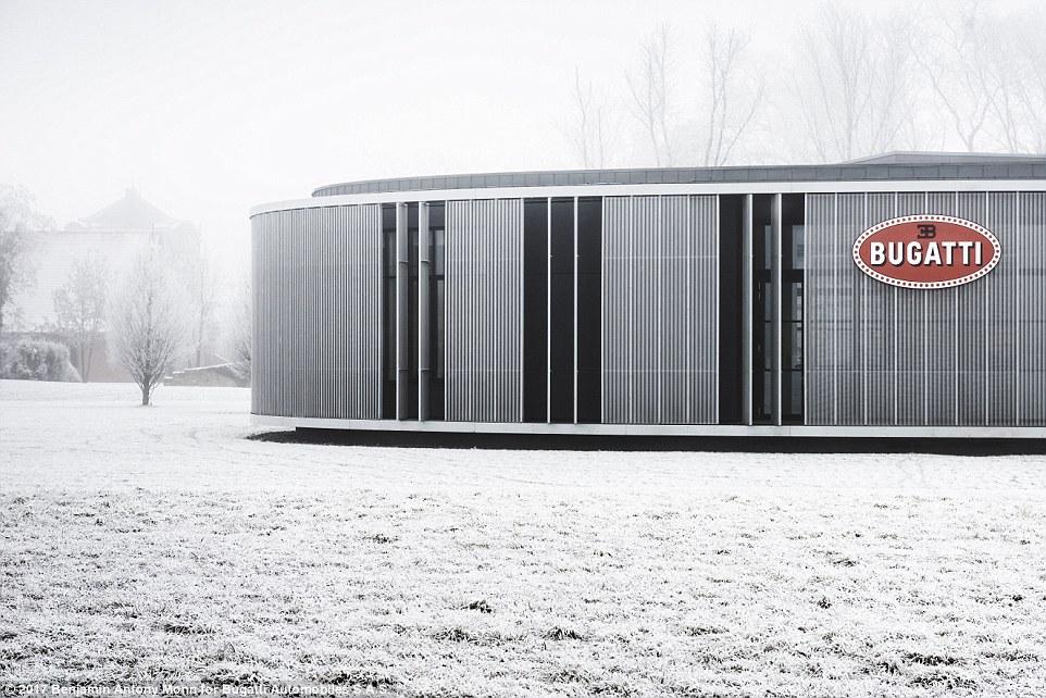 Bugatti Production Location Molsheim near Strasbourg