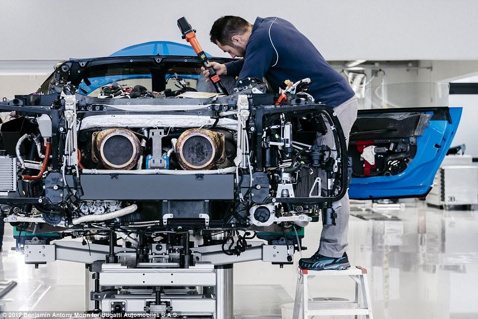Bugatti Technician