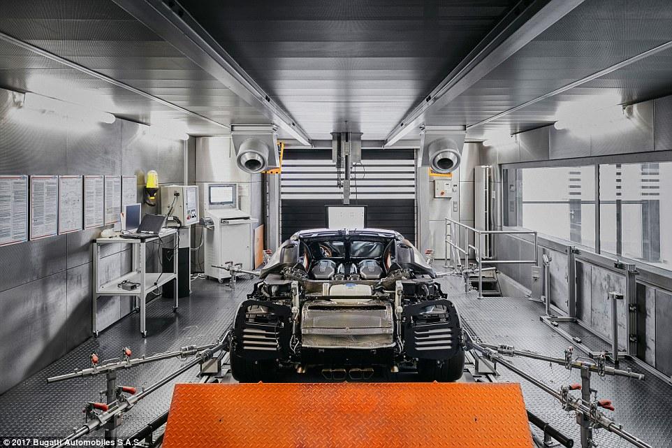 Bugatti's Rolling Dynamometer