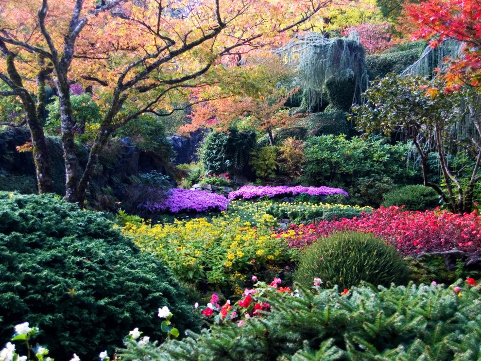 Butchart Gardens, Brentwood Bay, Canada