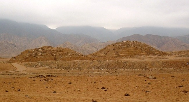 Caral The Largest Cities Of The Norte Chico people