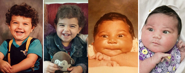 18 Photos Show Parents And Their Children Photographed At The Same Age