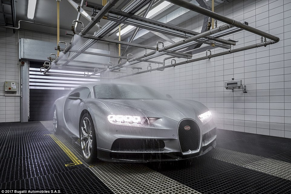 Chiron Is Subject To A Rain Test