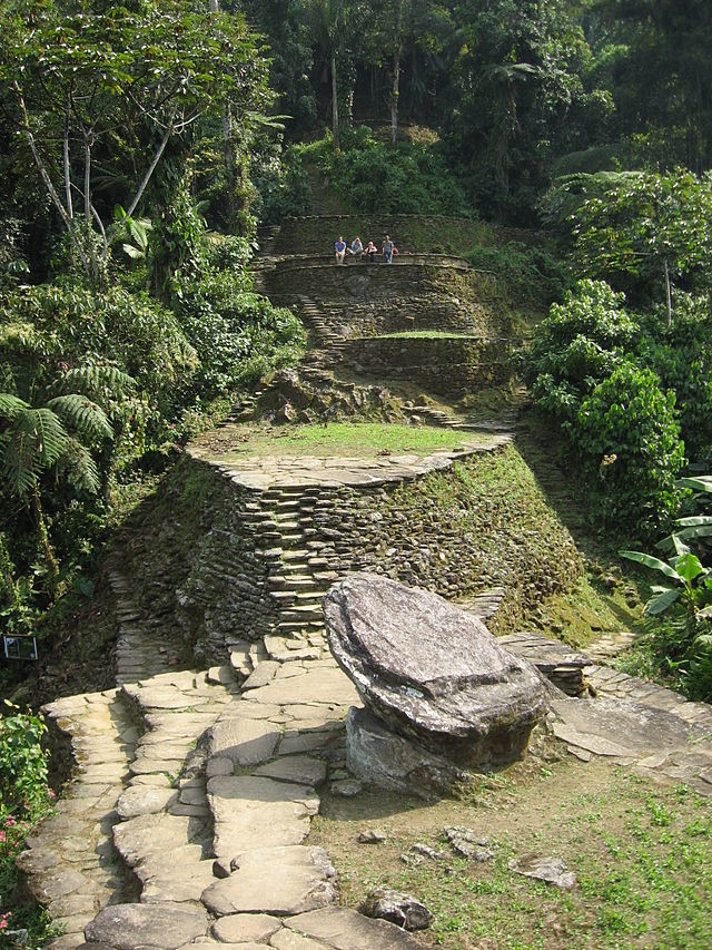 Ciudad Perdida Known As Teyuna And Buritaca