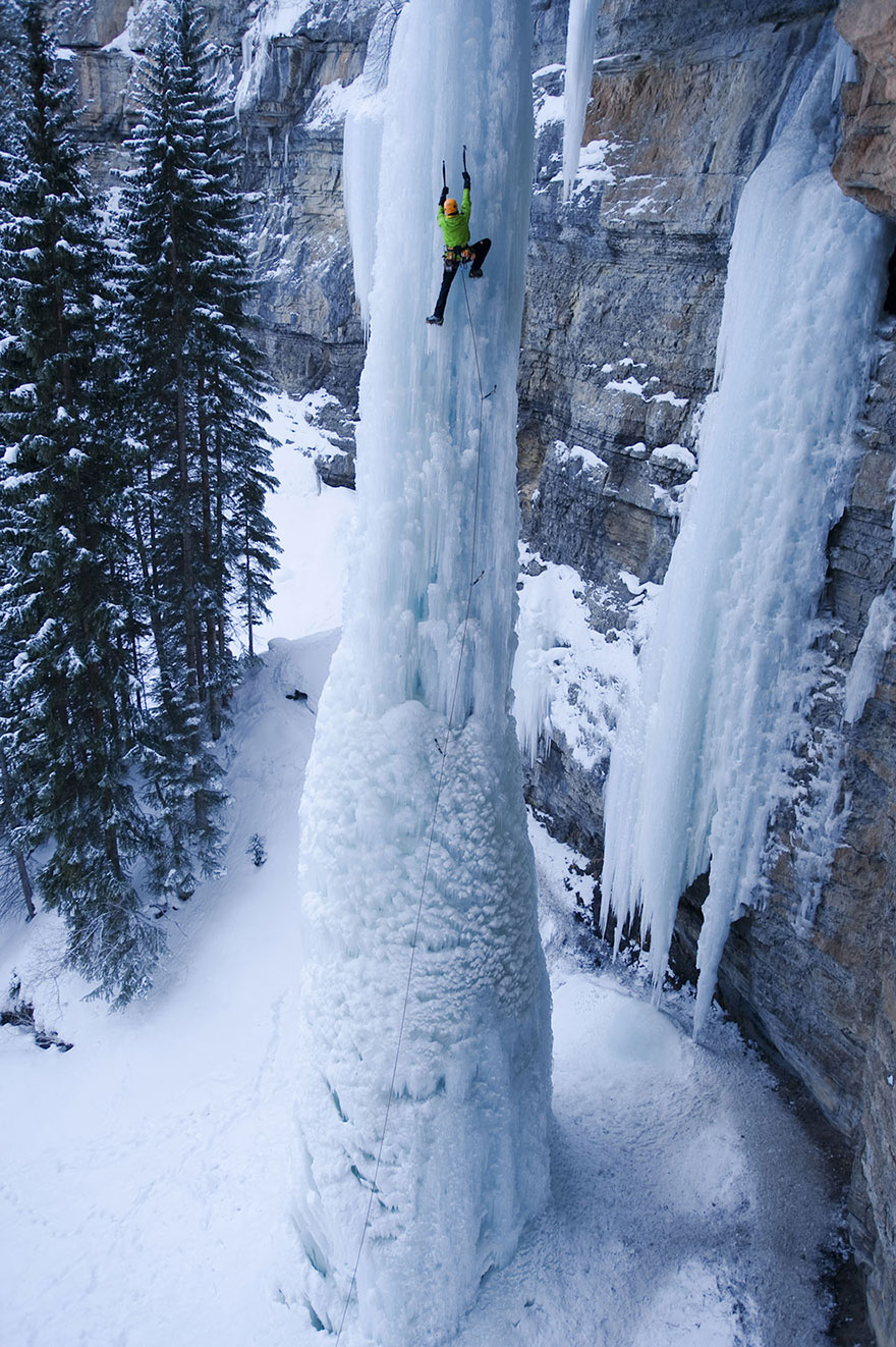 Try To Get Some Ice,death-defying photos