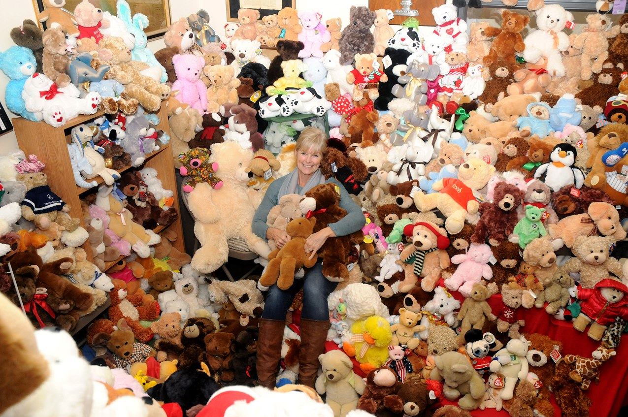 Donate Teddy Bear with Heart