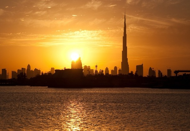 Photos Of Sunsets in Dubai, United Arab Emirates