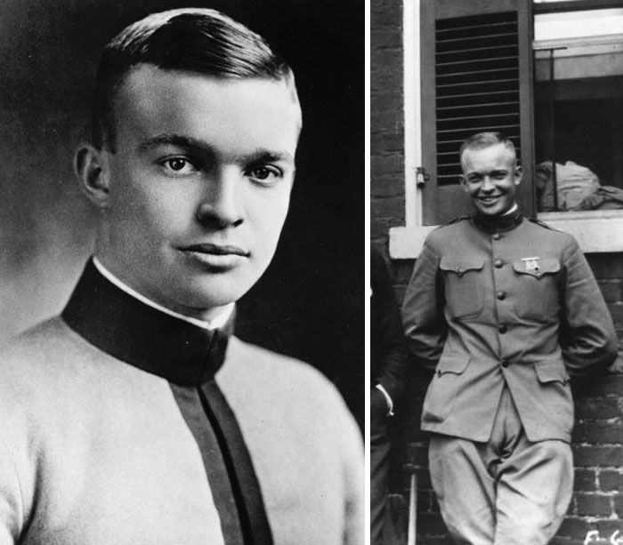 Dwight Eisenhower, Age 25 and 29