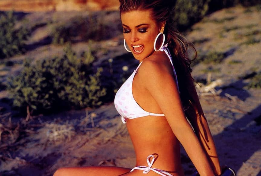 photos of the sizzling Carmen Electra