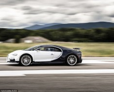 Every Chiron Is Test Driven 300 Km