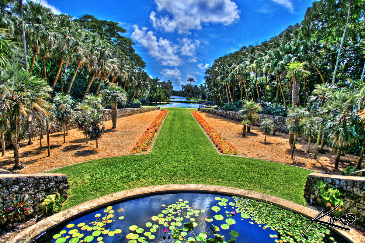 Fairchild Tropical Botanic Garden in Coral Gables