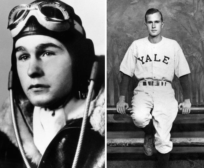 George H. W. Bush, Age 18