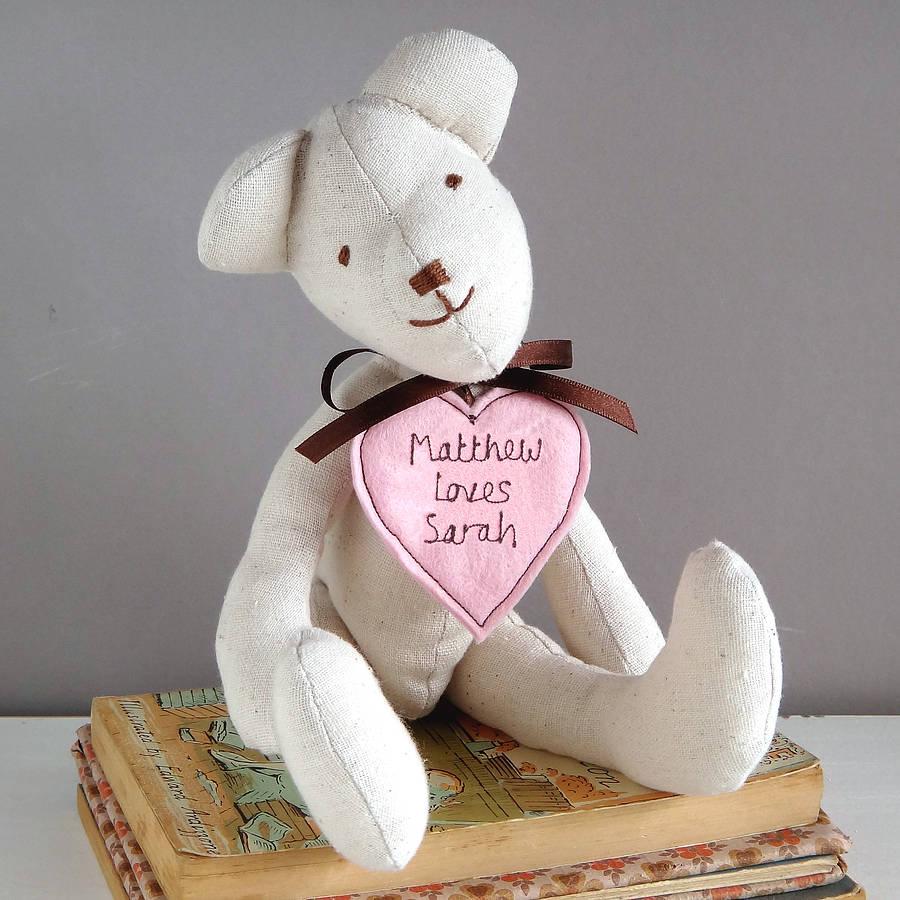 Gift Hand Made Teddy Bear