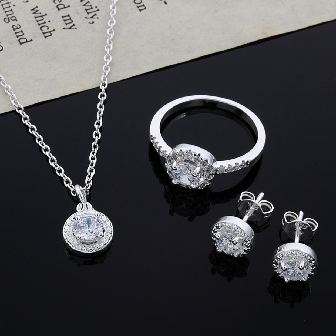 21 Last Minute Mothers Day Gifts Ideas 1 Set Perhiasan Perak Gift Rings And Pendent