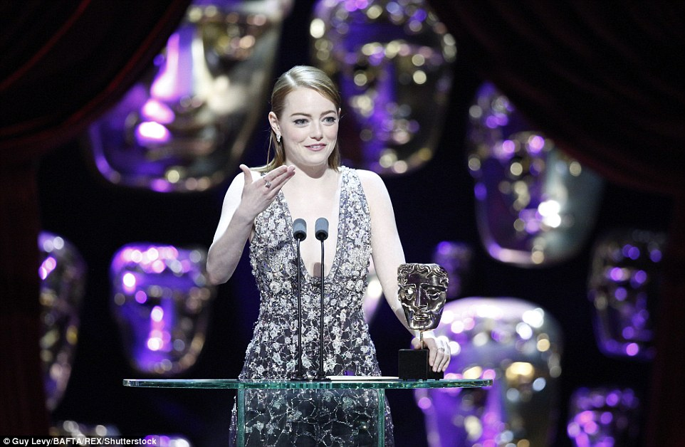 Speech for Best Actress