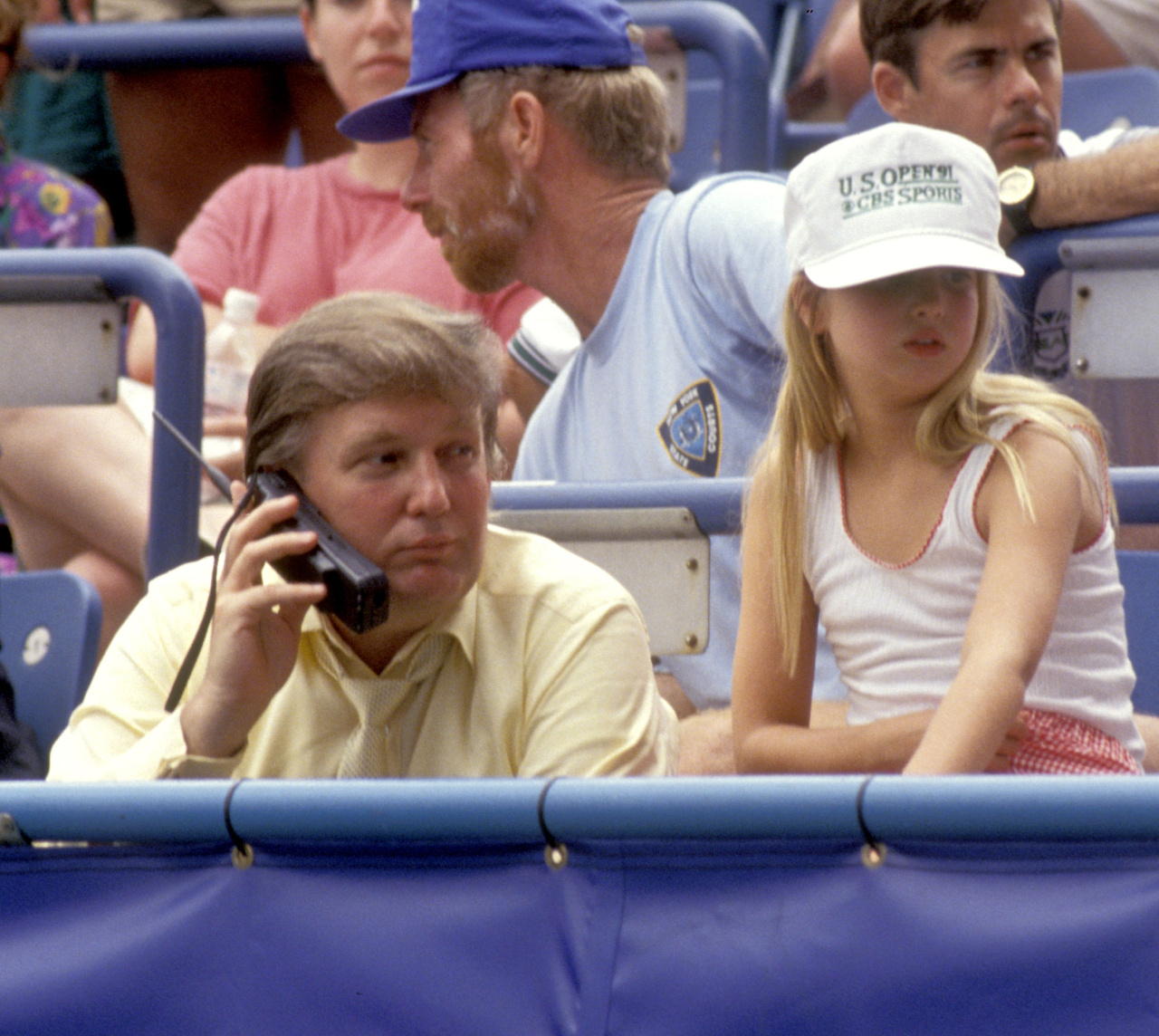 Ivanka and Donald Attend U. S. Open Tennis Championship