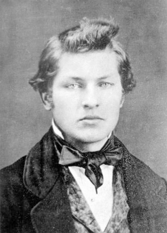 James Garfield, Age 16