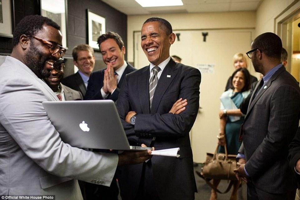 Obama and Jimmy Fallon