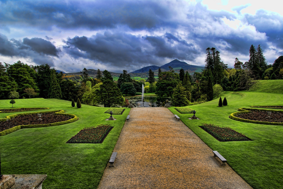 Powerscourt Gardens, Enniskerry, County Wicklow, Ireland