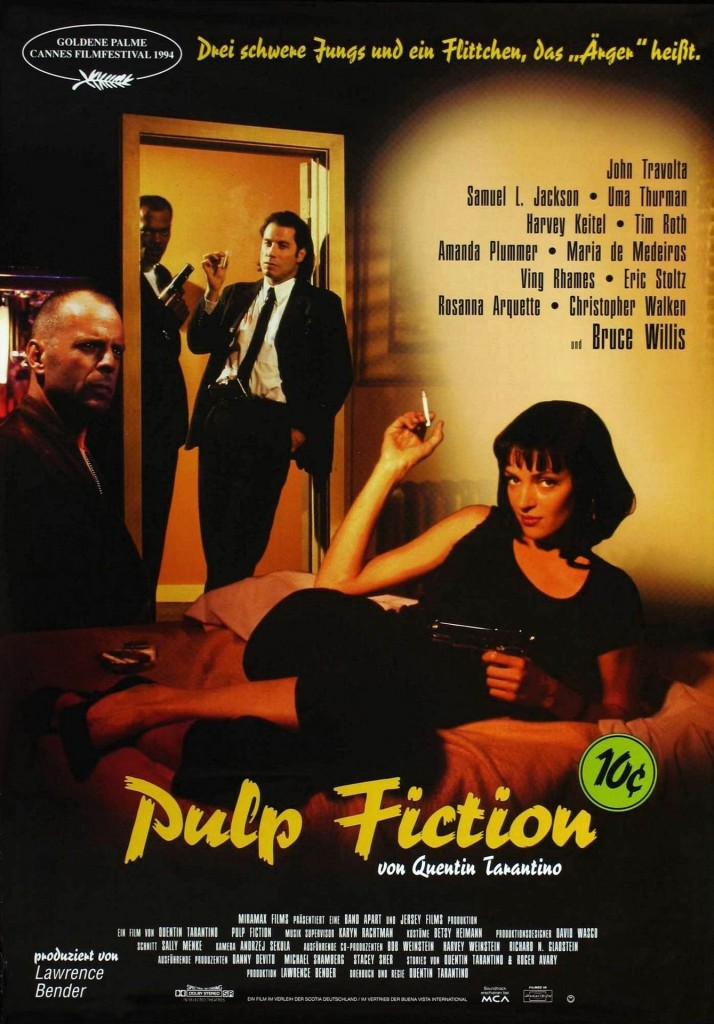 "Watch Movie The ""Pulp Fiction"" This Weekend On Amazon Prime"