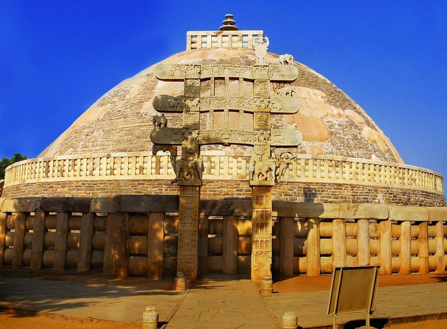 Sanchi A Buddhism Temple