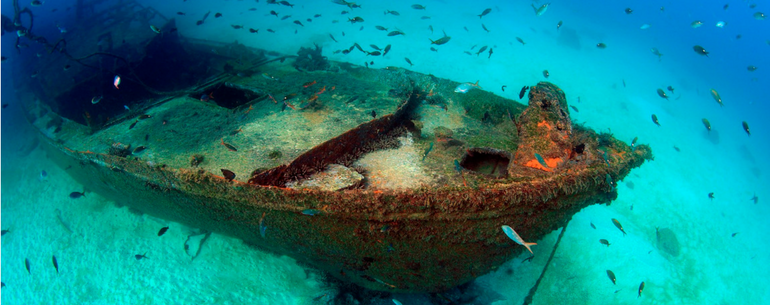 Stunning Pictures Of Shipwrecks From Around The World