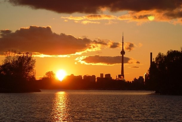 Sunsets In Toronto