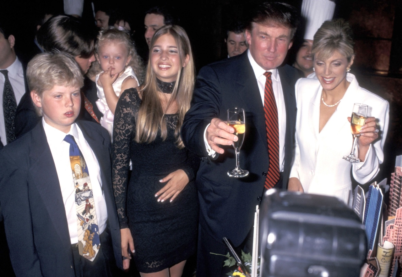 Trump Jr., Donald, Eric, Ivanka At Party