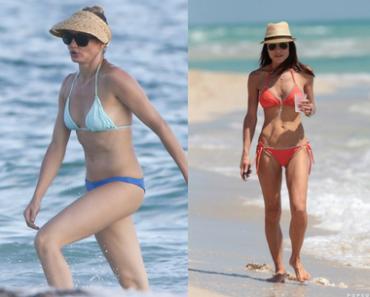 Celebrities Over 40 Wearing Bikinis