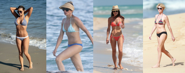 Celebrities Over 40 Wearing Bikinis